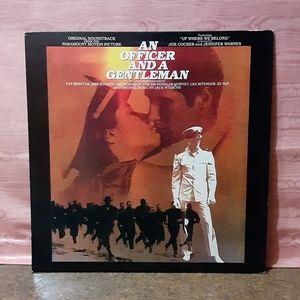 Vintage 1982 An Officer And A Gentleman Vinyl LP A